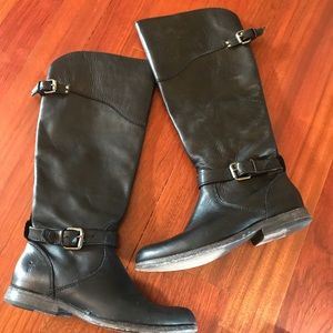Frye leather boots 7